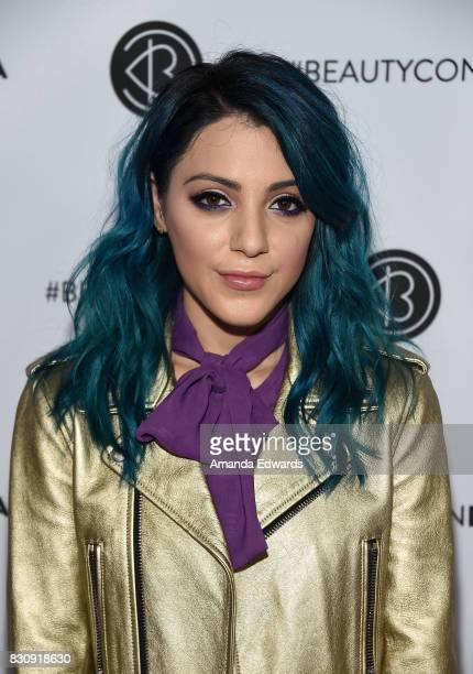 Niki DeMartino attends the 5th Annual Beautycon Festival Los Angeles at the Los Angeles Convention Center on August 12 2017 in Los Angeles California