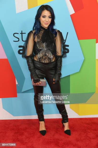 Niki DeMartino attends the 7th Annual Streamy Awards at The Beverly Hilton Hotel on September 26 2017 in Beverly Hills California