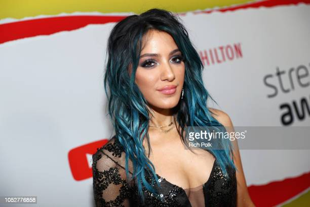Niki DeMartino attends The 8th Annual Streamy Awards at The Beverly Hilton Hotel on October 22 2018 in Beverly Hills California
