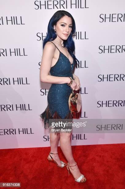 Niki Demartino attends the NYFW Sherri Hill Runway Show on February 9 2018 in New York City