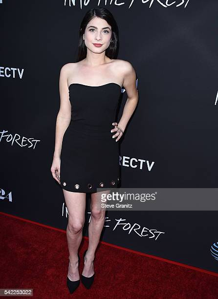 Niki Koss arrives at the Premiere Of A24's 'Into The Forest' at ArcLight Hollywood on June 22 2016 in Hollywood California