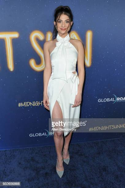 Niki Koss attends the Global Road Entertainment's World Premiere of Midnight Sun at ArcLight Hollywood on March 15 2018 in Hollywood California