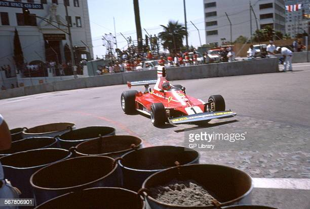 Niki Lauda 1975 World Champion Driver in the Ferrari 312T T stood for Trasversale which described the lateral layout of the spurgear gearbox behind...