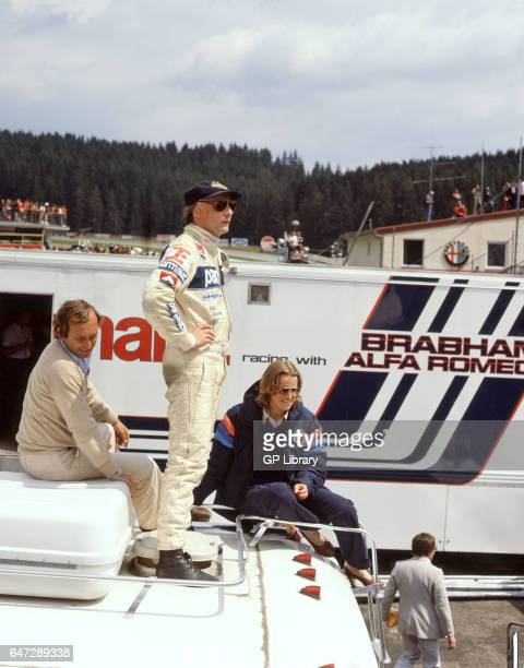 Niki Lauda an austrian motor racing driver in Spa Austria 1979
