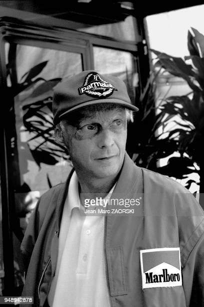 Niki Lauda, ancien pilote de course automobile, triple champion du monde de Formule 1, entrepreneur et dirigeant d'entreprise autrichien, conseiller...