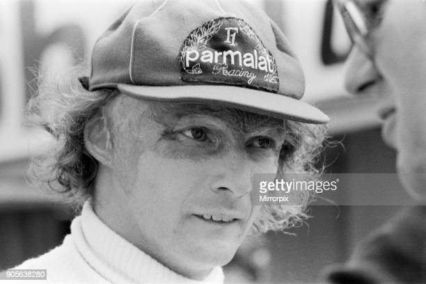 Niki Lauda at Brands hatch fighting the clock for an early placing in the John Player Grand Prix 13th July 1978