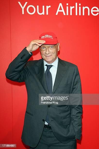 Niki Lauda at the '30 Years of Air Berlin' Gala In Estrel Hotel in Berlin on 280409