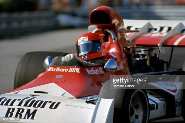 Niki Lauda BRM P160D Grand Prix of Monaco Monaco 03 March 1973