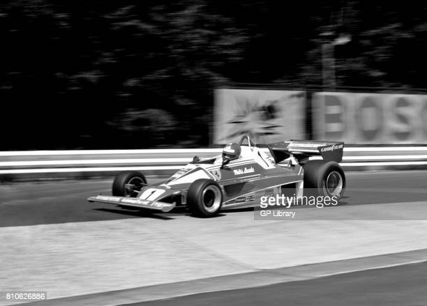 Niki Lauda driving a Ferrari 312T at Nurburgring German GP