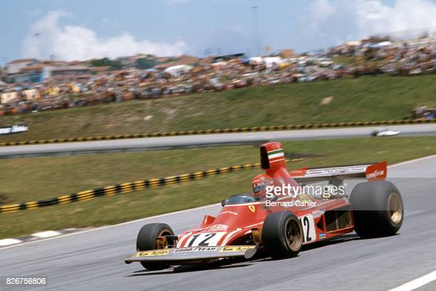 Niki Lauda Ferrari 312B374 Grand Prix of Brazil Interlagos 25 January 1975