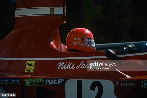 Niki Lauda Ferrari 312B374 Grand Prix of Germany Nurburgring 04 August 1974