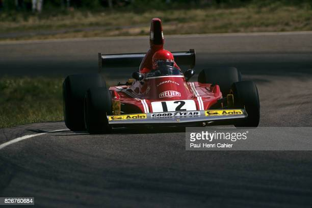 Niki Lauda, Ferrari 312B3-74, Grand Prix of Germany, Nurburgring, 04 August 1974.
