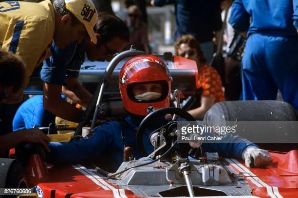 Niki Lauda Ferrari 312B374 Grand Prix of Monaco Monaco 26 May 1974