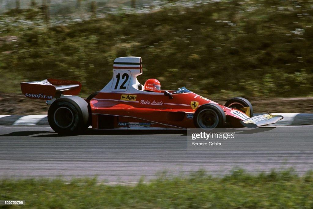Niki Lauda, Grand Prix Of Belgium : News Photo