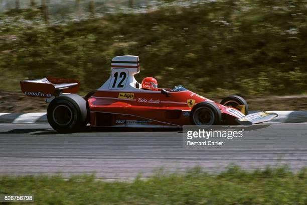 Niki Lauda Ferrari 312T Grand Prix of Belgium Zolder 16 May 1975