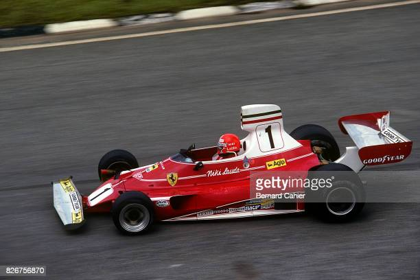 Niki Lauda, Ferrari 312T, Grand Prix of Brazil, Interlagos, 25 January 1976.