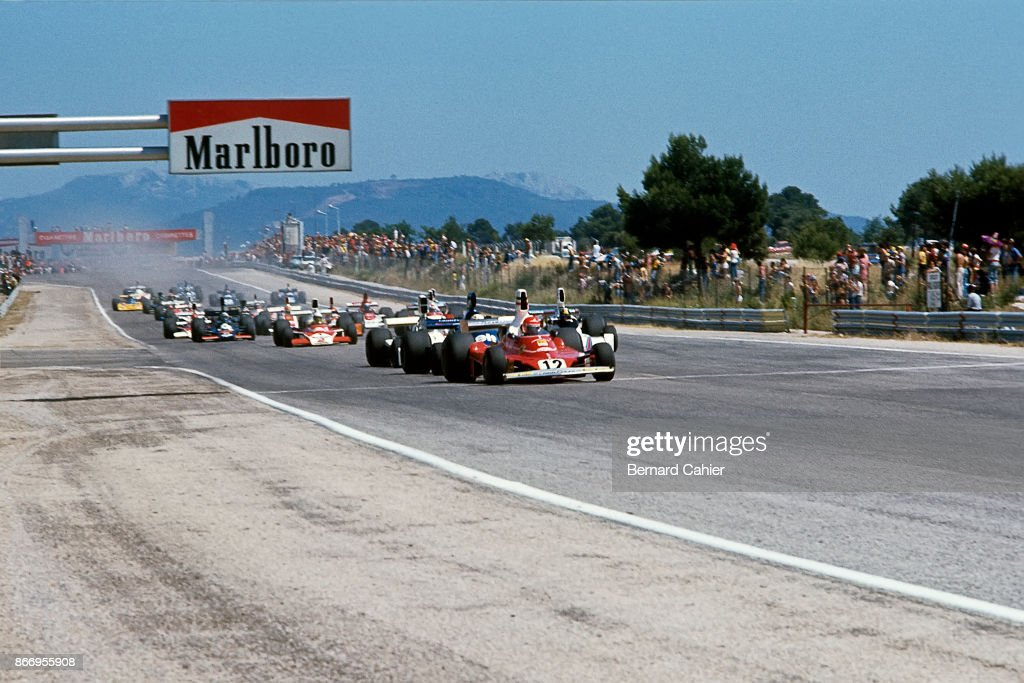 Niki Lauda, Grand Prix Of France : Fotografía de noticias
