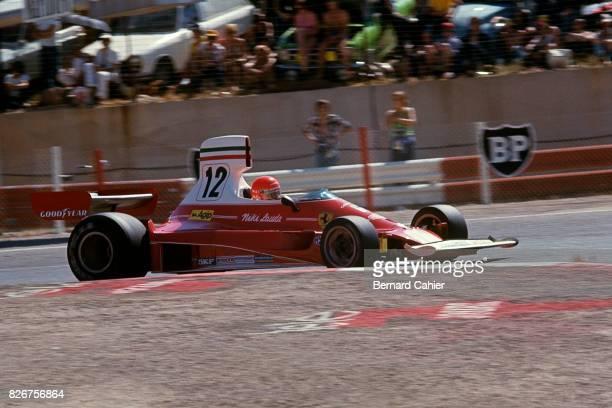 Niki Lauda Ferrari 312T Grand Prix of France Paul Ricard 04 July 1975
