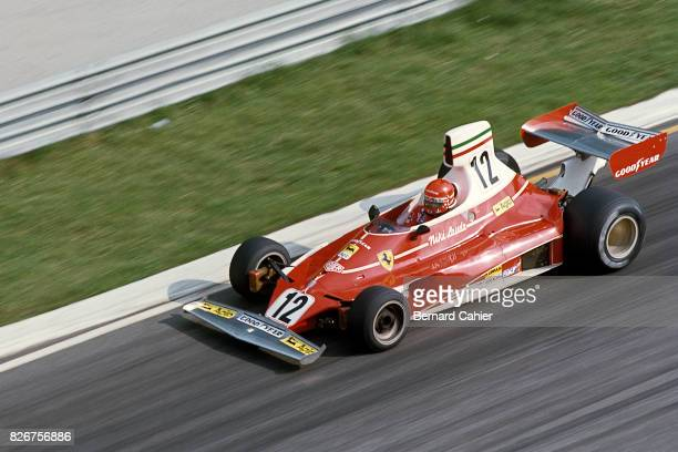 Niki Lauda Ferrari 312T Grand Prix of Italy Monza 07 September 1975