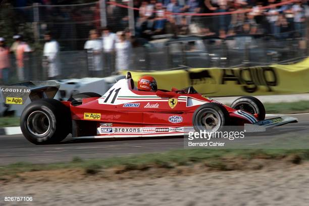 Niki Lauda Ferrari 312T2 Grand Prix of Italy Monza 11 September 1977