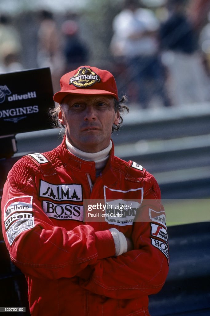 Niki Lauda, Grand Prix Of Canada : News Photo