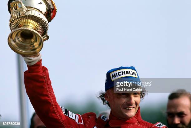 Niki Lauda Grand Prix of Great Britain Brands Hatch 22 July 1984