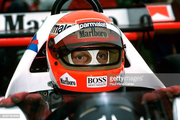 Niki Lauda McLarenTAG MP4/2 Grand Prix of France DijonPrenois 20 May 1984