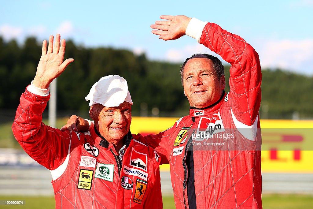 F1 Grand Prix of Austria - Qualifying : News Photo