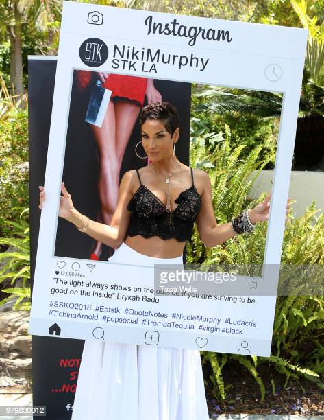 Niki Murphy attends the summer season kickoff 2018 party hosted by Nicole Murphy Ludacris and Tichina Arnold at STK Los Angeles on June 20 2018 in...