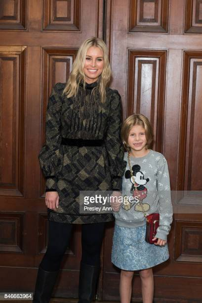 Niki Taylor and Ciel Taylor Lamar attend Marc Jacobs Spring 2018 show red carpet at Park Avenue Armory on September 13 2017 in New York City