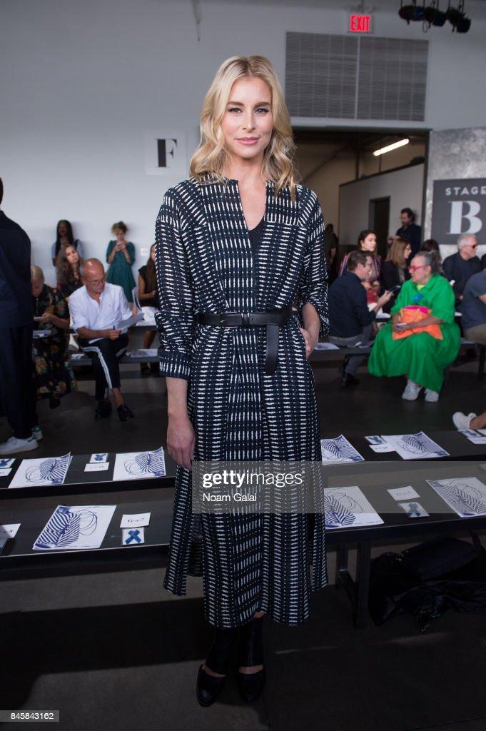 Zero + Maria Cornejo - Front Row - September 2017 - New York Fashion Week