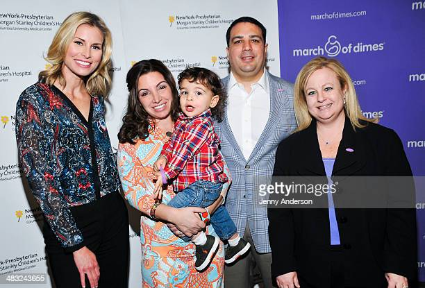 Niki Taylor Briana Matthew Tortoso parents of JohnCarlo and Kari Mastro VP of Nursing Patient Care Services at New York Presbyterian Morgan Stanley...
