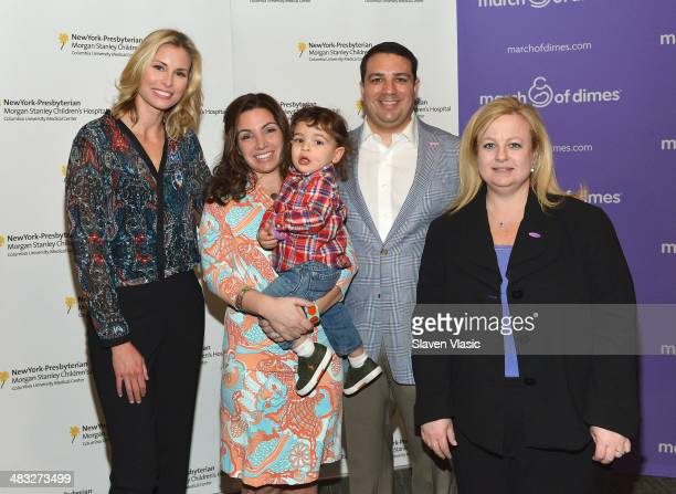 Niki Taylor Briana Matthew Tortoso parents of JohnCarlo and Kari Mastro VP of Nursing Patient Care Services at New York Presbyterian Morgan Stanley...