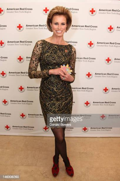 Niki Taylor celebrates the 2012 Nexcare Give Campaign and World Blood Donor Day at an American Red Cross Ball on June 13 2012 in New York City