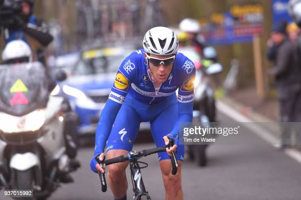 Niki Terpstra of The Netherlands and Team QuickStep Floors / during the 61st E3 Harelbeke 2018 a 2064km race from Harelbeke to Harelbeke on March 23...
