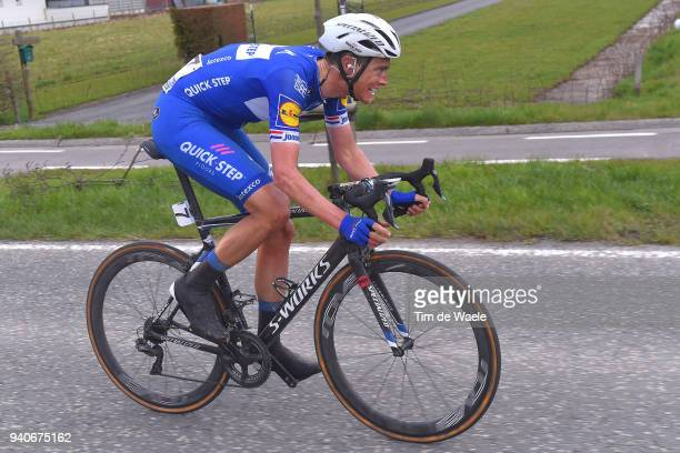 Niki Terpstra of The Netherlands and Team Quick-Step Floors / during the 102nd Tour of Flanders 2018 - Ronde Van Vlaanderen a 264,7km race from...