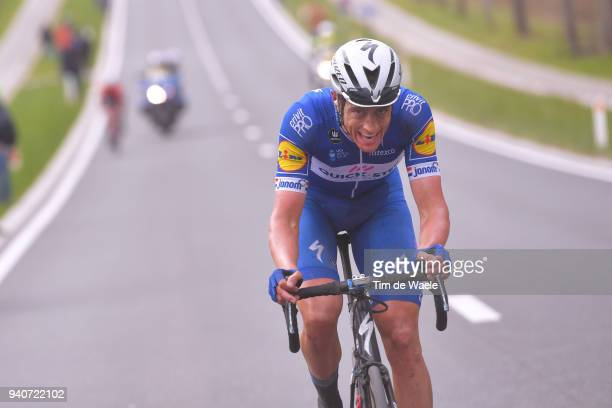 Niki Terpstra of The Netherlands and Team Quick-Step Floors / Paterberg / during the 102nd Tour of Flanders 2018 - Ronde Van Vlaanderen a 264,7km...