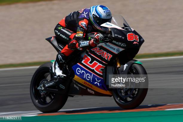 Niki Tuuli of Finland and Ajo MotoE during the test of FIM Enel MotoE World Cup at Circuito de Ricardo Tormo on June 18, 2019 in Valencia, Spain.