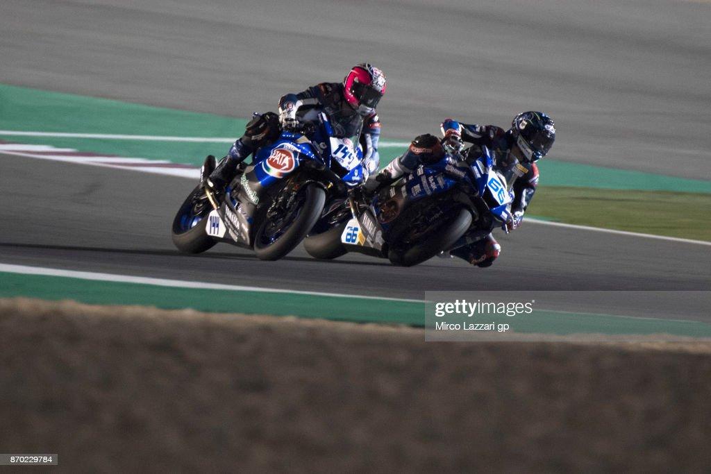 FIM Superbike World Championship in Qatar - Race 2 : News Photo
