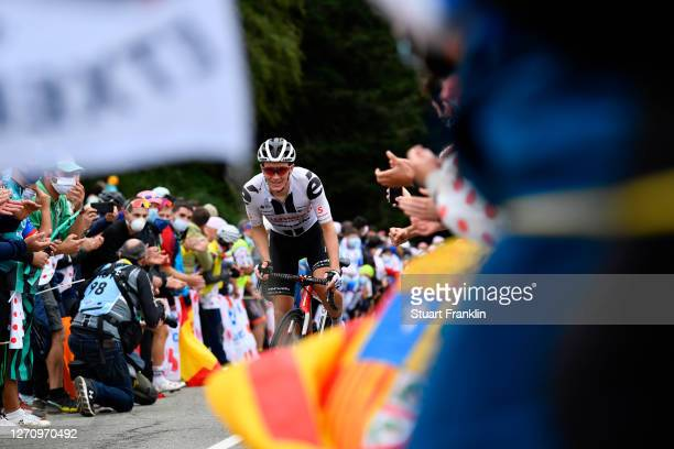 Nikias Arndt of Germany and Team Sunweb / Public / Fans / during the 107th Tour de France 2020, Stage 9 a 153km stage from Pau to Laruns 495m /...