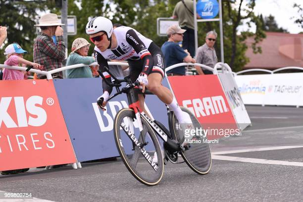 Nikias Arndt of Germany and Team Sunweb rides during stage four of the 13th Amgen Tour of California 2018 San Jose / Morgan Hill a 34.7 km Individual...