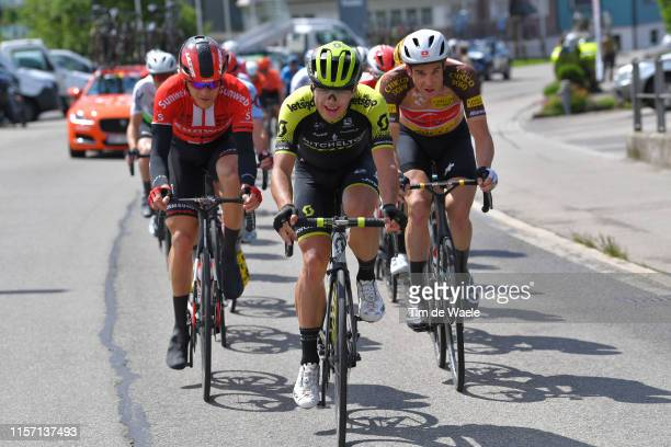 Nikias Arndt of Germany and Team Sunweb / Robert Stannard of Australia and Team Mitchelton - Scott / Claudio Imhof of Switzerland and Team...
