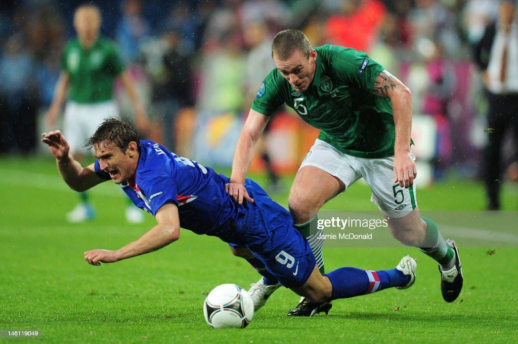 Ireland v Croatia - Group C: UEFA EURO 2012