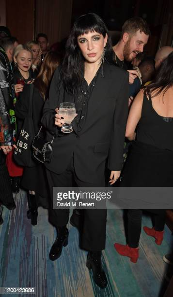 Nikita Andrianova attends the NME Awards after party in association with Copper Dog at The Standard on February 12 2020 in London England