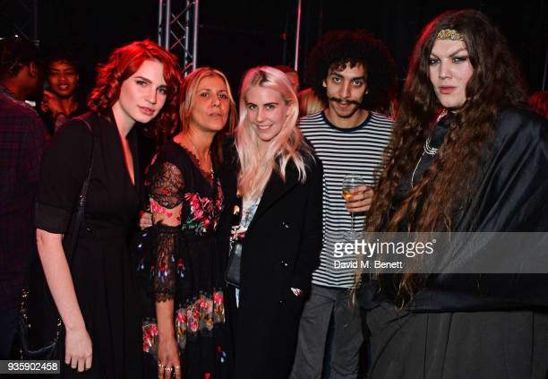 Nikita Andrianova Azzi Glasser India Rose James Twiggy Garcia and Daniel Lismore attend The Perfumer's Story evening of Scentsory delights hosted by...