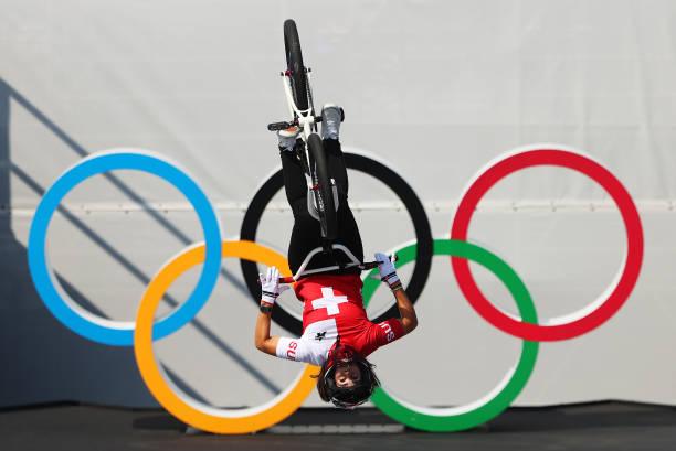 JPN: Cycling - BMX Freestyle - Olympics: Day 9