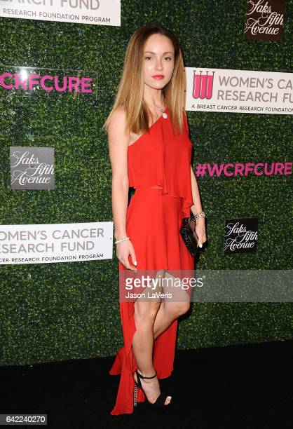 Nikita Kahn attends An Unforgettable Evening at the Beverly Wilshire Four Seasons Hotel on February 16 2017 in Beverly Hills California