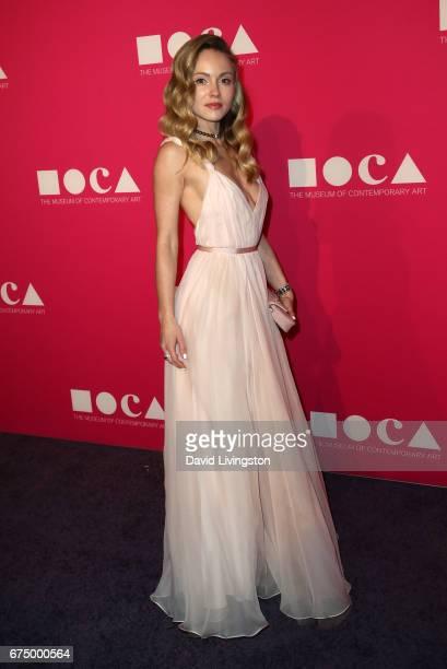 Nikita Kahn attends the 2017 MOCA Gala at The Geffen Contemporary at MOCA on April 29 2017 in Los Angeles California