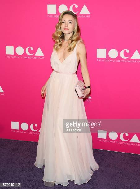 Nikita Kahn attends the MOCA Gala 2017 on April 29 2017 in Los Angeles California