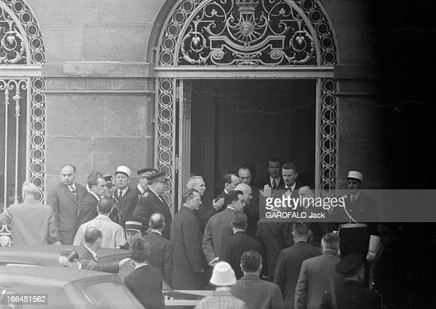 Nikita Khrushchev Official Visit To Versailles France Versailles 2 avril 1960 Nikita Sergueïevitch KHROUCHTCHEV Premier secrétaire du Comité central...